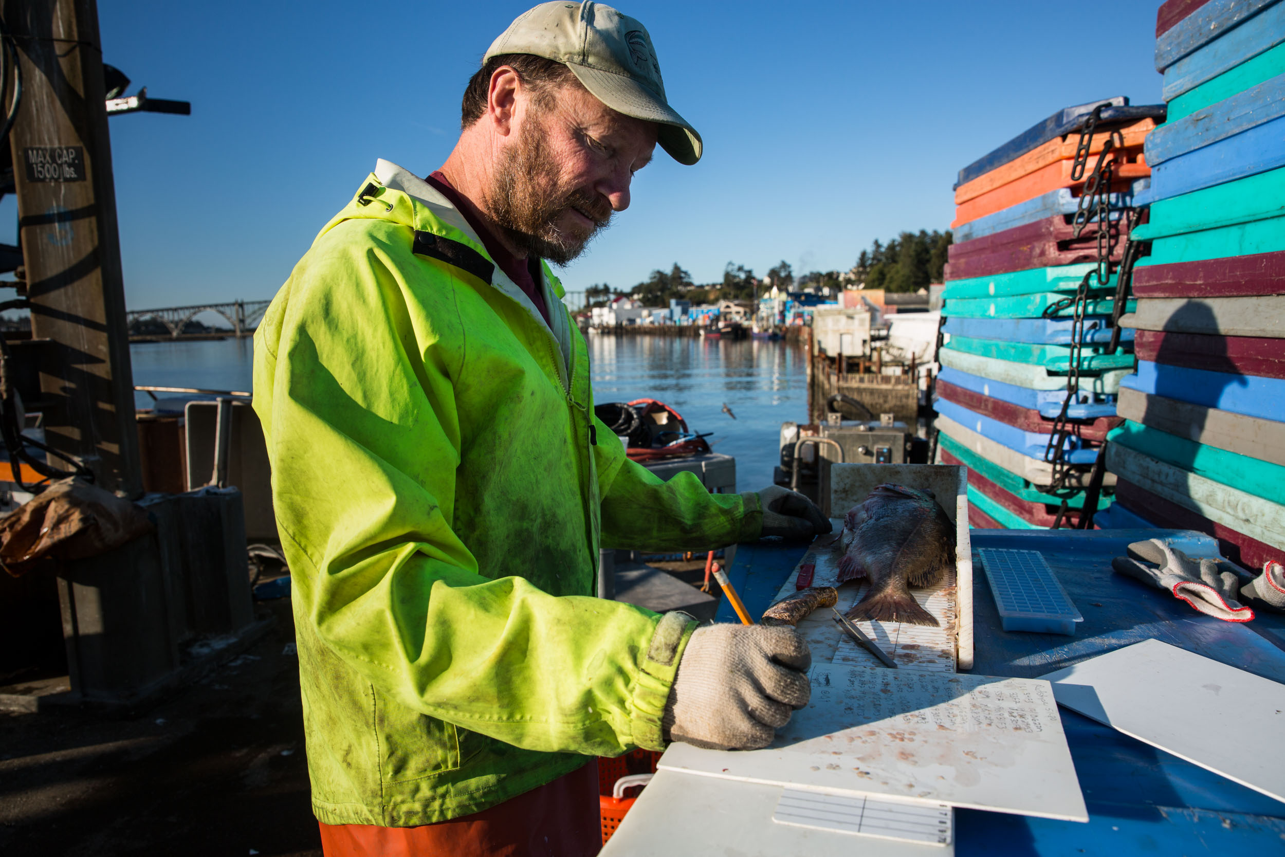 Newport, Oregon, USA - West Coast Groundfish Fishery
